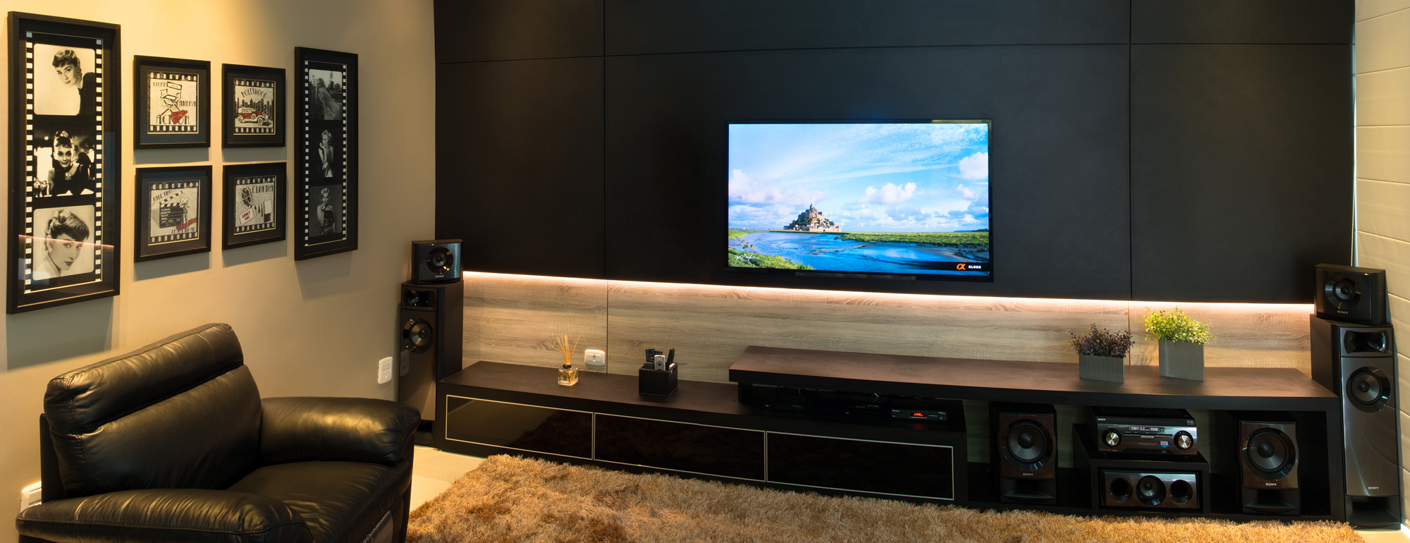 Banner Home Theater